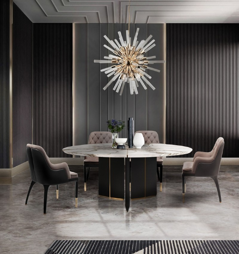 modern dining table 20 Modern Dining Tables For Your Contemporary Dining Room 1 OThlLw