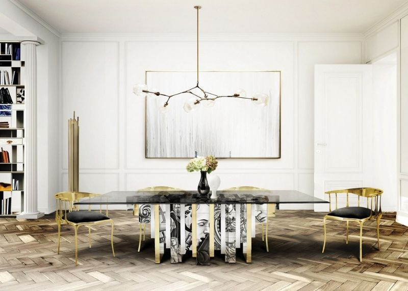 20 Modern Dining Tables For Yor Contemporary Dining Room modern dining table 20 Modern Dining Tables For Your Contemporary Dining Room 48ae8386fd3b8cbc91df361fa8138461
