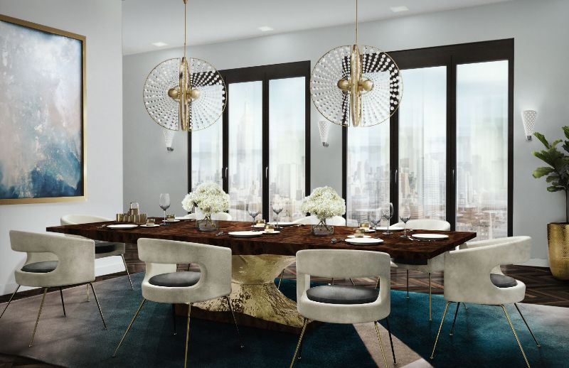 modern dining table 20 Modern Dining Tables For Your Contemporary Dining Room ambience 107 HR