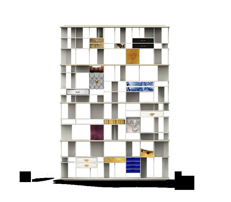 luxury cabinets 10 Luxury Cabinets To Upscale Your Home Decor By Boca do Lobo coleccionista bookcase 01 boca do lobo