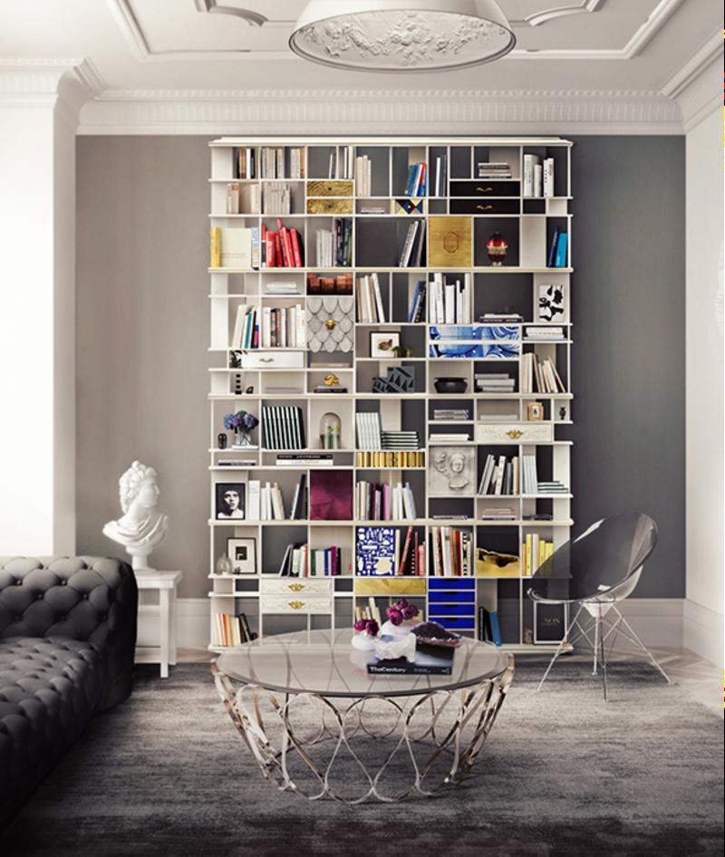 luxury cabinets 10 Luxury Cabinets To Upscale Your Home Decor By Boca do Lobo coleccionista bookcase 02 boca do lobo 1 1