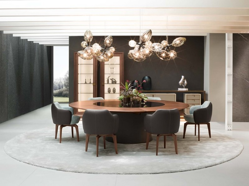 modern dining table 20 Modern Dining Tables For Your Contemporary Dining Room fang giorgietti 1