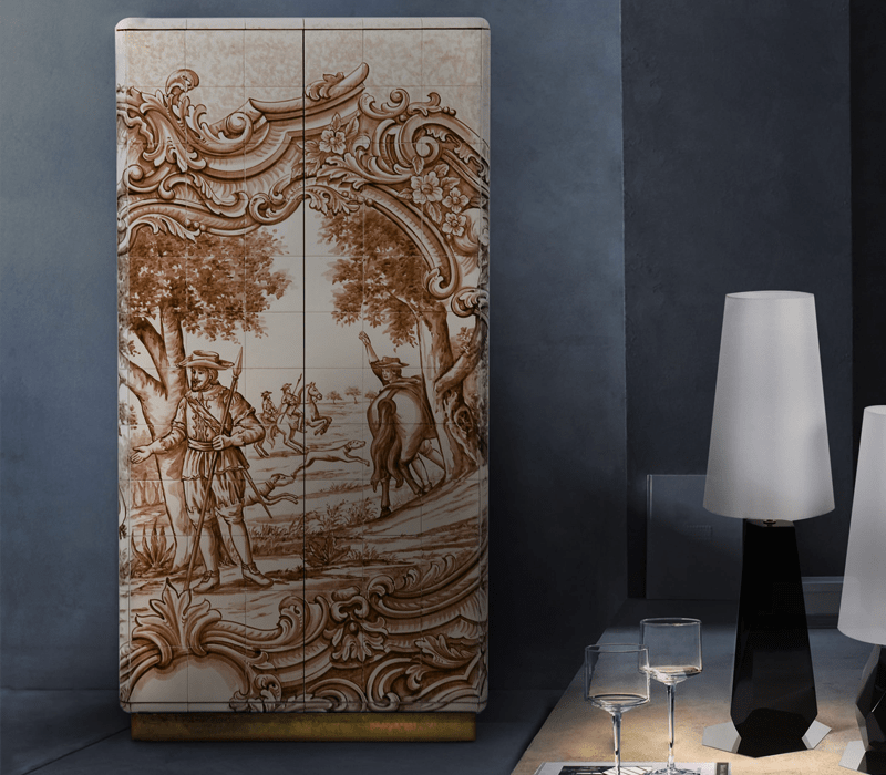 luxury cabinets 10 Luxury Cabinets To Upscale Your Home Decor By Boca do Lobo heritage sepia cabinet 02 boca do lobo
