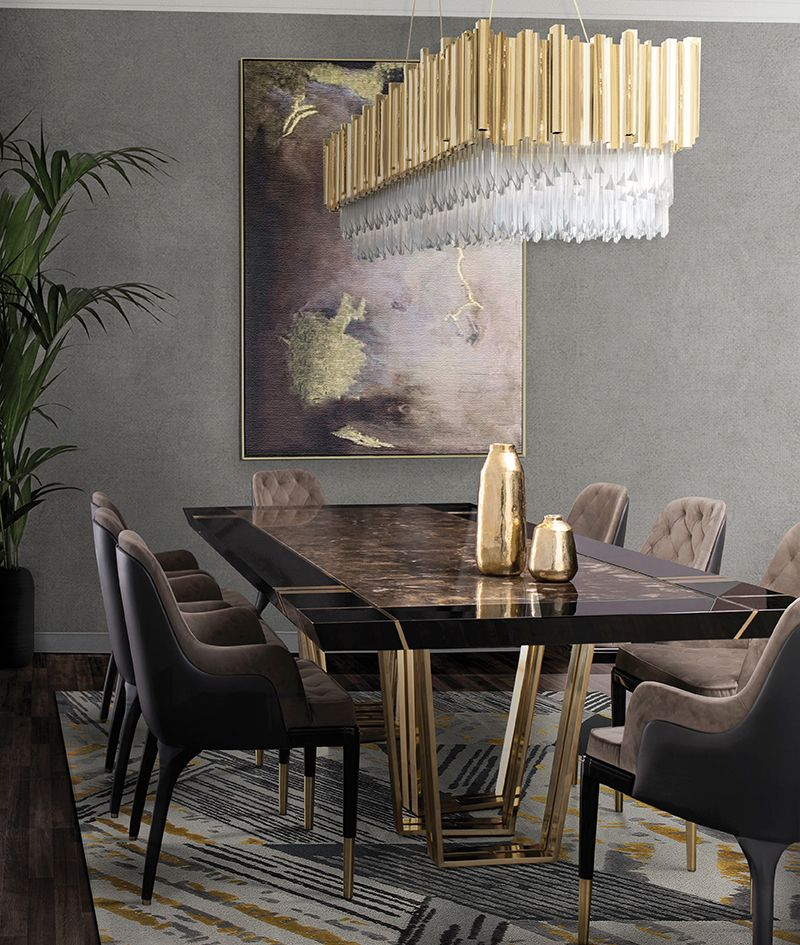 modern dining table 20 Modern Dining Tables For Your Contemporary Dining Room img 5