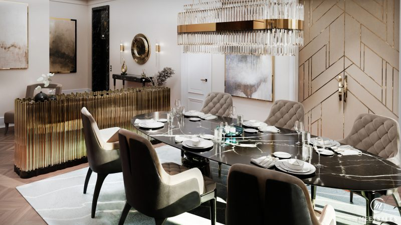 Luxury Design Project To Inspiring Your Modern Classic Interior House