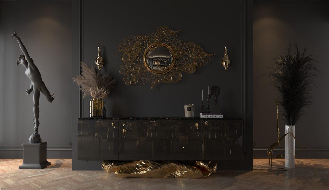 living room Living Room Ideas For A  Glamorous Home Design bl angra handmade sideboard 1140x660