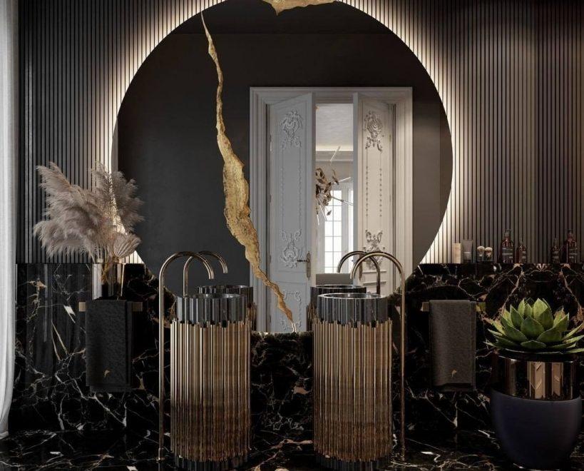luxury ideas 6 Luxury Ideas to Fix Up Your Home bl lumiere round mirror 819x1024 1 819x660