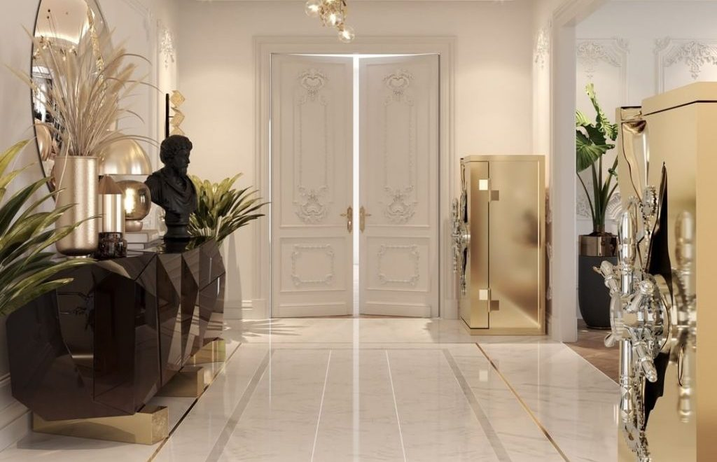 exclusive furniture Exclusive Furniture Designs For A Sophisticated Home bl luxury entryway 1024x1024 1 1024x660