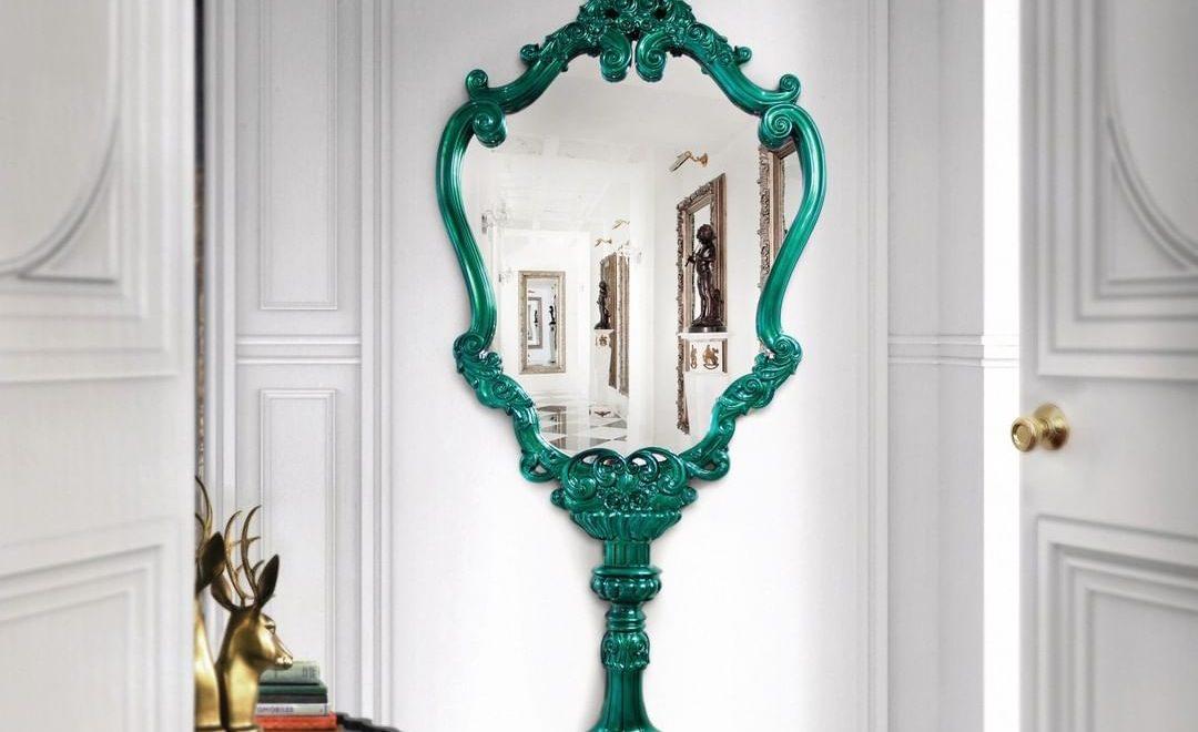 modern furnitur Modern Furniture Designs for Your Elegant Bedroom bl marie antoinette wall mirror 1 1080x660