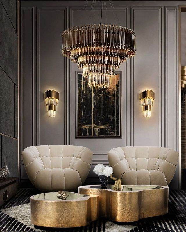 Living Room Ideas For A  Glamorous Home Design