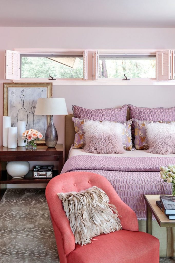 Pastel Rooms That Will Inspire You To Go Bold pastel room Pastel Room That Will Inspire You To Go Bold pink bedroom 1580921068 682x1024