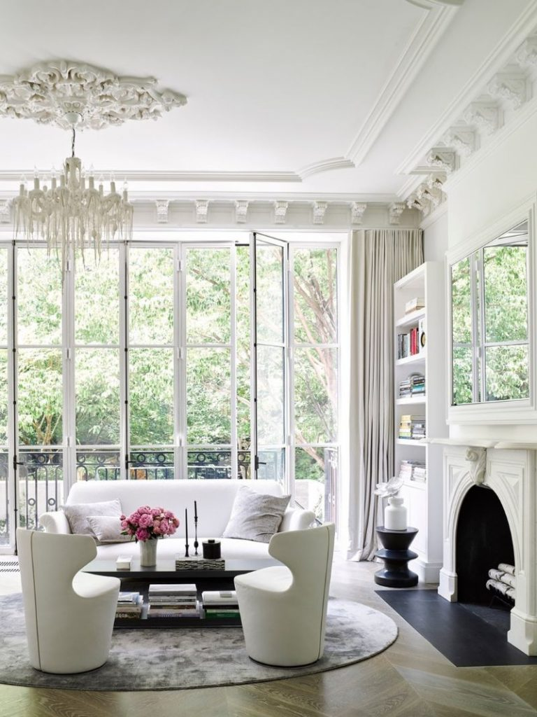 interior design projects New York City – The Most Luxury Interior Design Projects A Contemporary Take on a Classic New York house by Studio Piet Boon 3 768x1024
