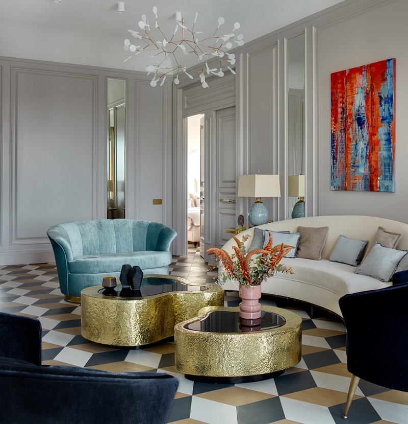 Luxury and Contemporary Russian Apartment By Boca do Lobo boca do lobo Luxury and Contemporary Russian Apartment By Boca do Lobo Contemporary Russian Apartment Boca do Lobo by Ekaterina Lashmanova 11