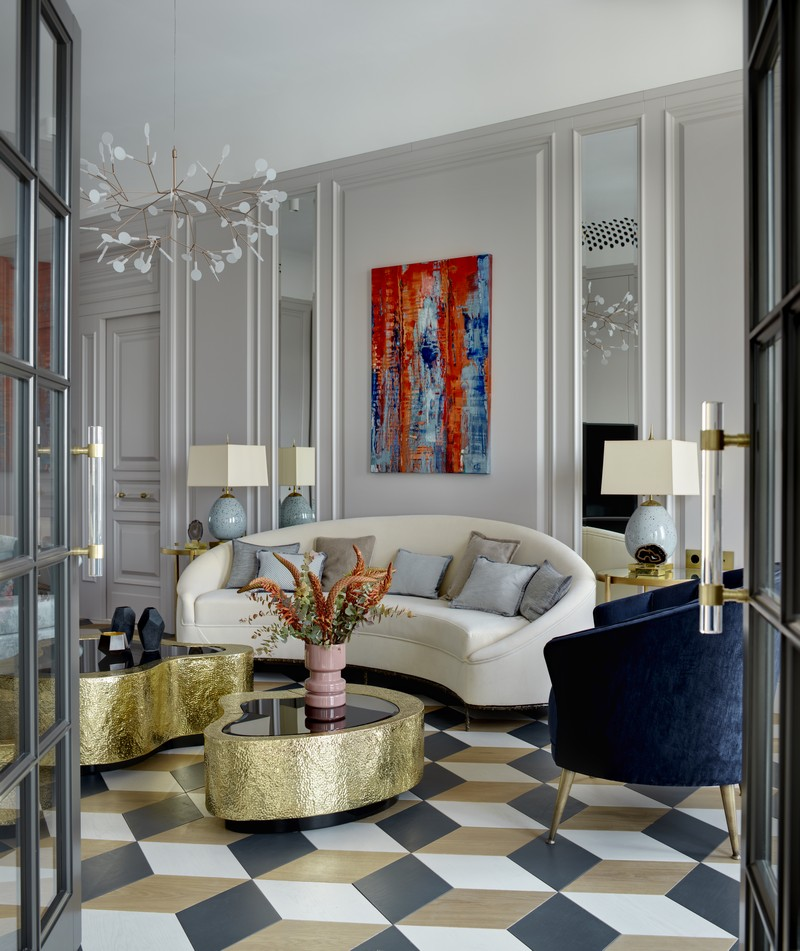 Luxury and Contemporary Russian Apartment By Boca do Lobo boca do lobo Luxury and Contemporary Russian Apartment By Boca do Lobo Contemporary Russian Apartment Boca do Lobo by Ekaterina Lashmanova 12 1