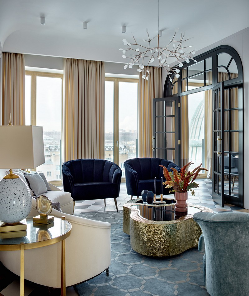 Luxury and Contemporary Russian Apartment By Boca do Lobo boca do lobo Luxury and Contemporary Russian Apartment By Boca do Lobo Contemporary Russian Apartment Boca do Lobo by Ekaterina Lashmanova 14