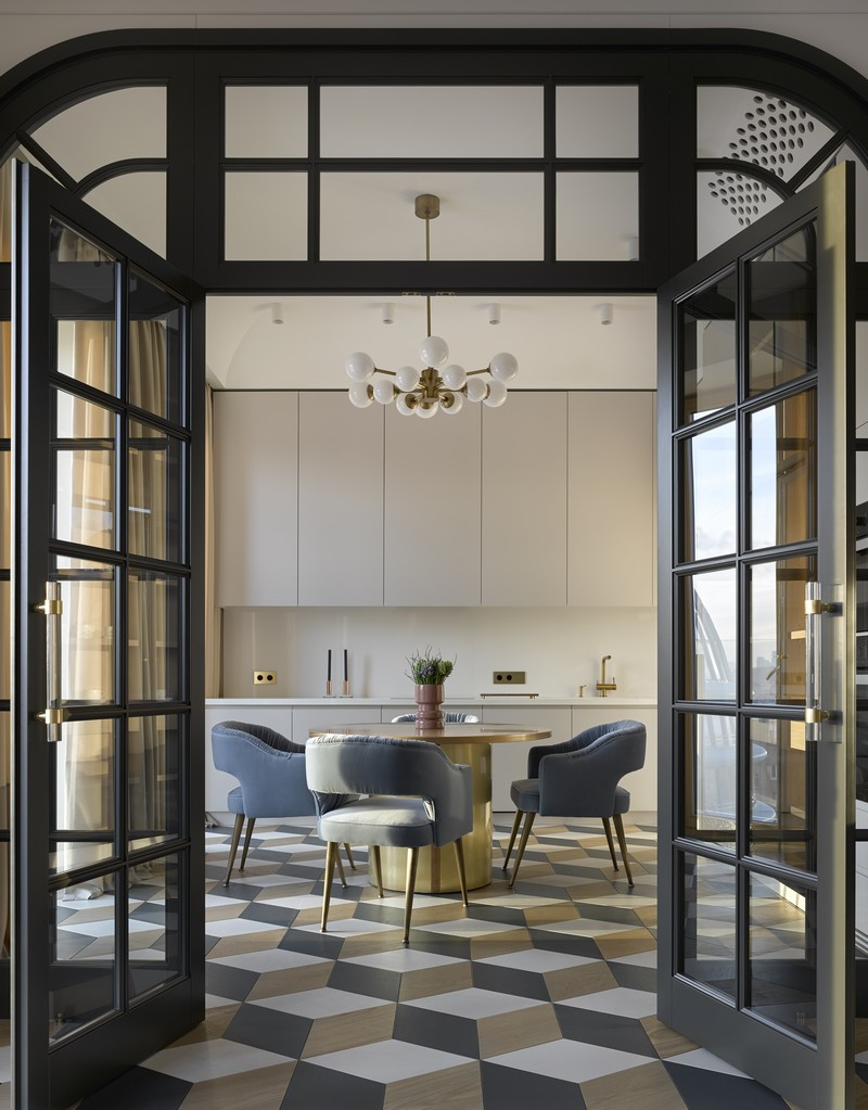 Luxury and Contemporary Russian Apartment By Boca do Lobo boca do lobo Luxury and Contemporary Russian Apartment By Boca do Lobo Contemporary Russian Apartment Boca do Lobo by Ekaterina Lashmanova 8