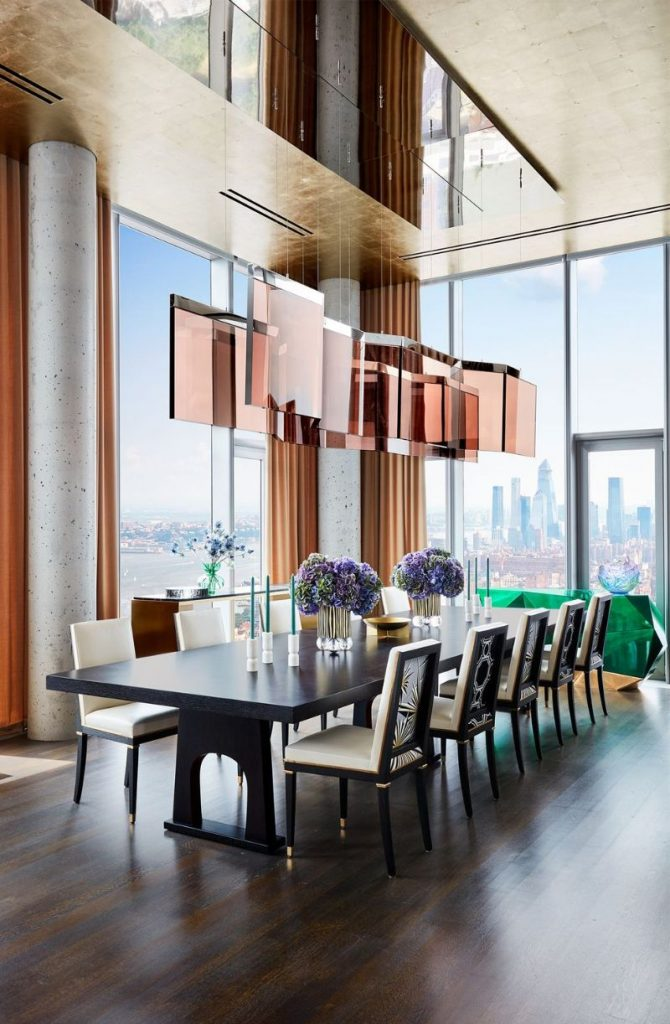 interior design projects New York City – The Most Luxury Interior Design Projects Living In The Clouds A Modern New York Apartment 6 670x1024