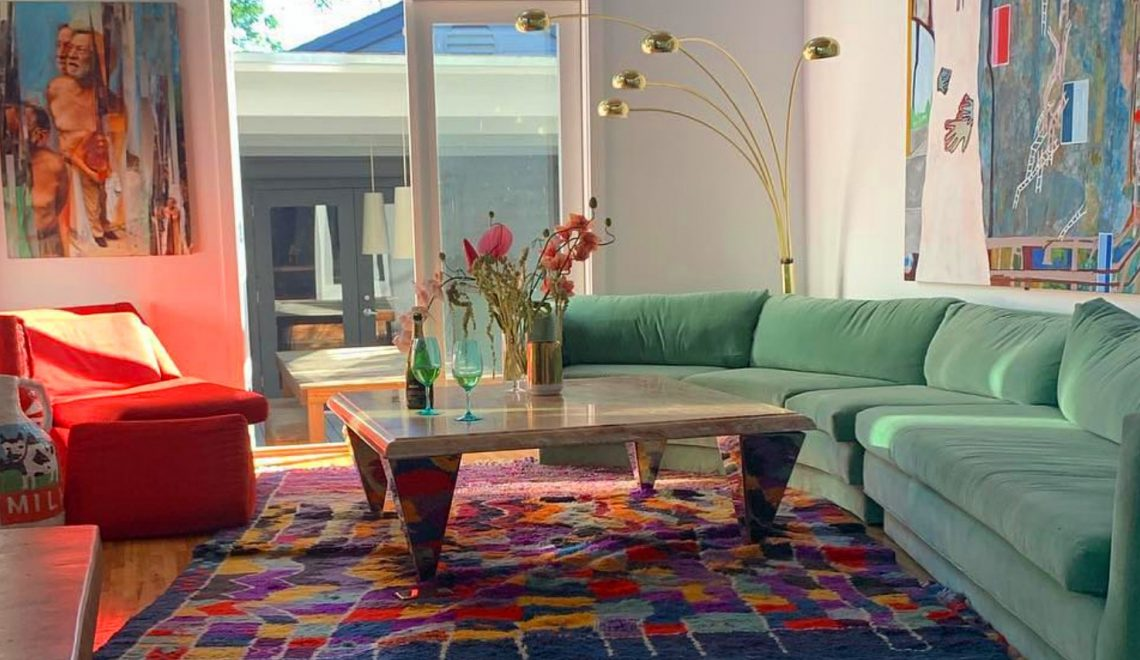 emily ratajkowski Inside Emily Ratajkowski's Art-Filled Los Angeles Home Screenshot 2020 04 26 at 12