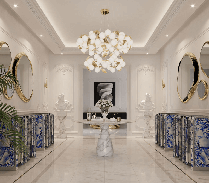 Luxury Ideas From This Playful Moscow House That Is Like No Other luxury ideas Luxury Ideas From This Playful Moscow House That Is Like No Other pietra round dining table 03 boca do lobo