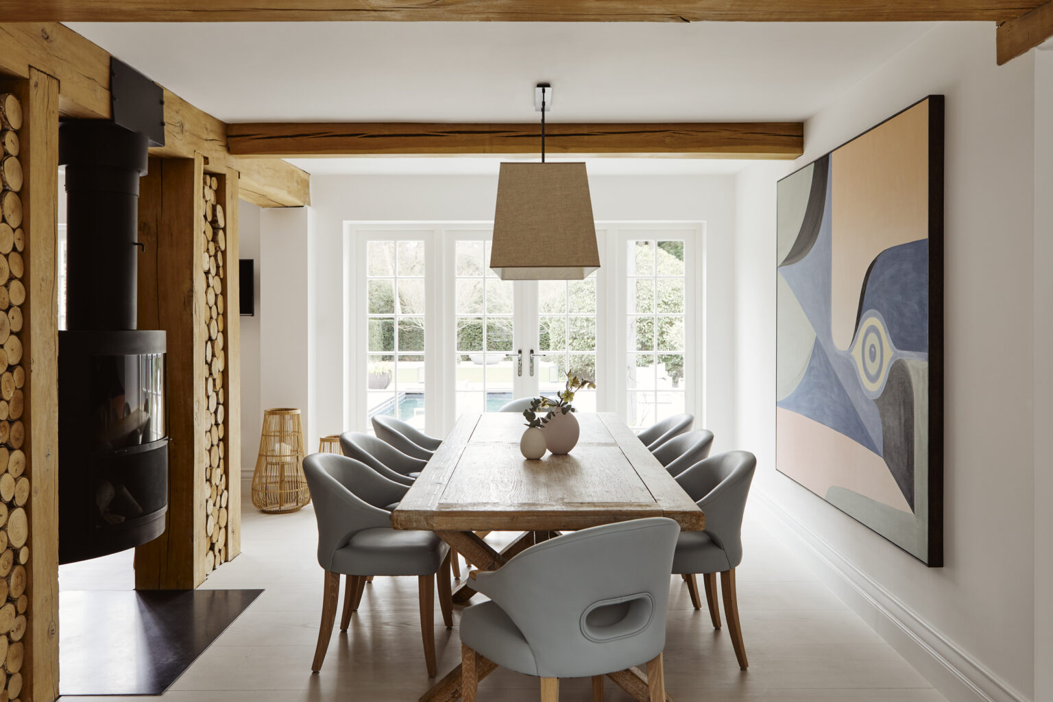 Melissa + Miller Interiors - The Luxury Style Home In South West Of London